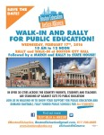 Stand Up for Public Education, Join Us Tomorrow, Feb. 17!