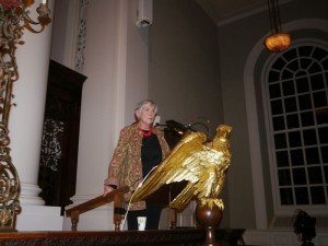 Diane Ravitch at Memorial Church