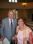 Medford Superintendent Roy Belson and Marilyn Seg