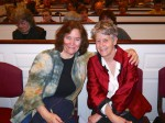 Jacqueline King and Cathy Hoffman